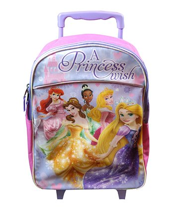 Princess Rolling Backpack