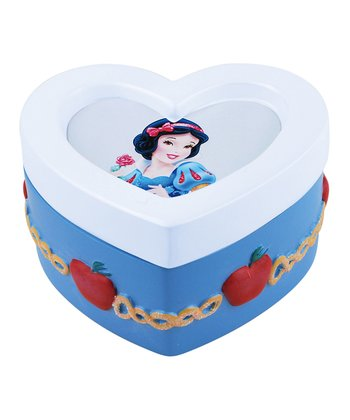 Snow White Heart Trinket Box