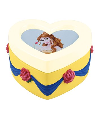 Belle Heart Trinket Box