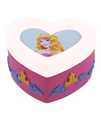 Sleeping Beauty Heart Trinket Box