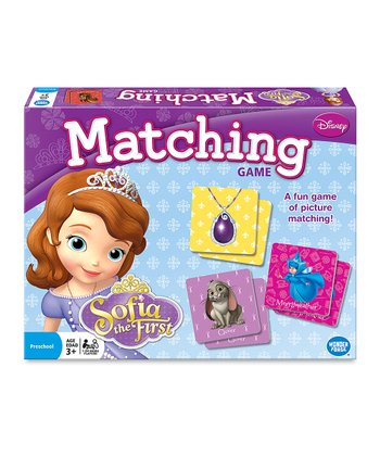 Disney Sofia Matching Game