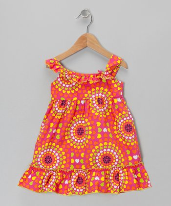 Pink Spectrum Dress - Girls