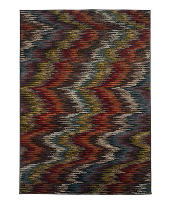 Warm Ripple Elliot Rug