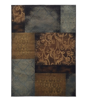 Blue Block Chesapeake Rug