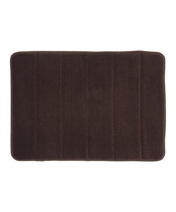Chocolate Memory Foam Bath Rug