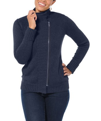 Midnight Low-Key Merino Wool-Blend Sweater - Women
