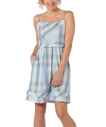 Pearl Blue Overjoy Organic Dress