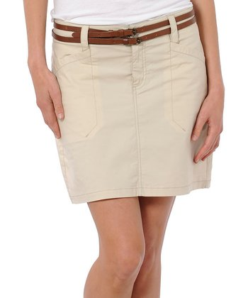 Oatmeal Sidekick Organic Skirt - Women