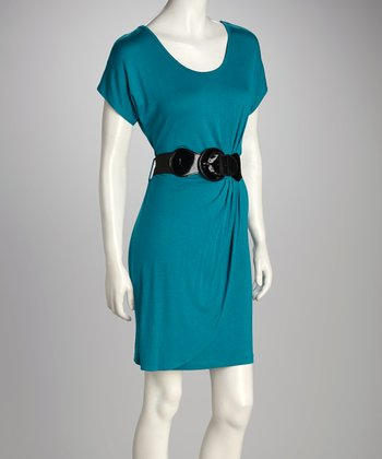 Jade Belted Dress