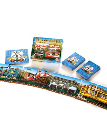 Flip-A-Longs: Long Long Locomotive Board Game