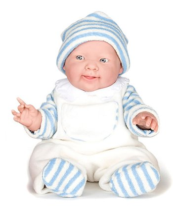 Blue Stripe Lucas Doll