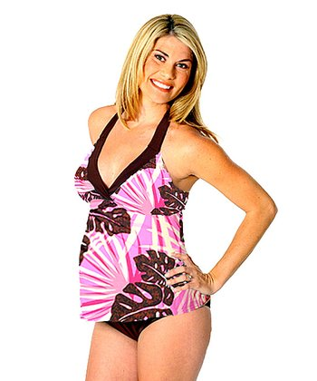 Prego Tropical Maternity Tankini