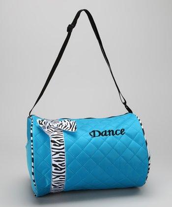 Seesaws & Slides Blue Bow 'Dance' Duffel Bag