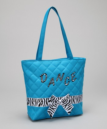 Seesaws & Slides Blue Bow 'Dance' Tote