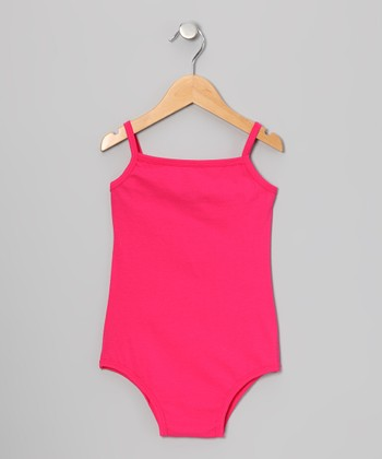 Hot Pink Camisole Leotard - Infant, Toddler & Girls