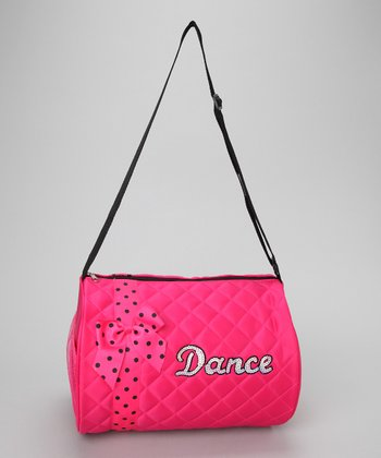 Seesaws & Slides Pink Bow 'Dance' Duffel Bag