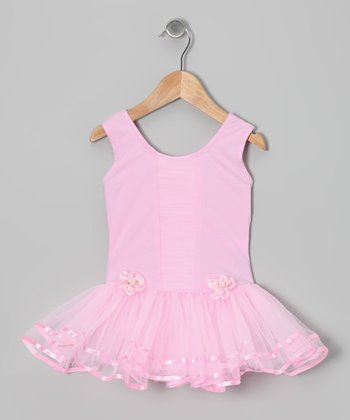 Pink Rose Skirted Leotard - Infant, Toddler & Girls