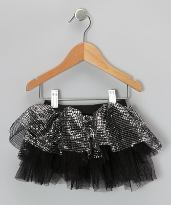 Black Sequin Tutu - Infant, Toddler & Girls