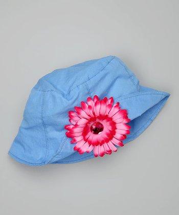 Blue & Pink Bucket Hat