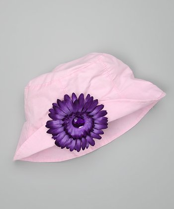 Pink & Purple Bucket Hat