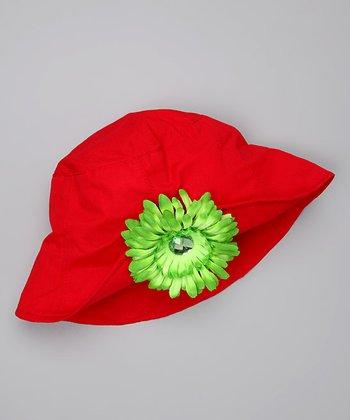 Red & Green Bucket Hat
