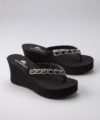 Black Gem Sandal