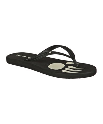 Black Lilly Flip-Flop - Women