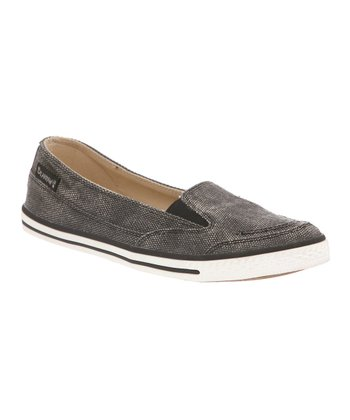Black Holly Slip-On Sneaker - Kids