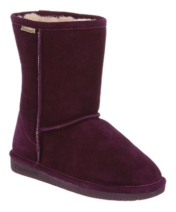 Winterberry Suede Emma Short Boot - Women