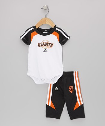 Brown Giants Bodysuit & Pants - Infant