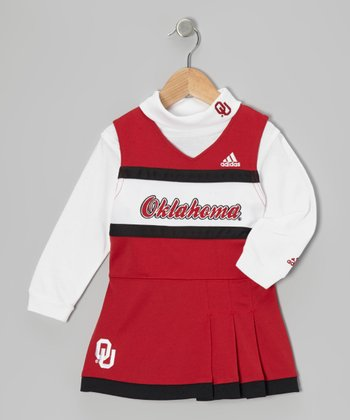 Oklahoma Cheerleader Turtleneck & Dress - Infant & Toddler