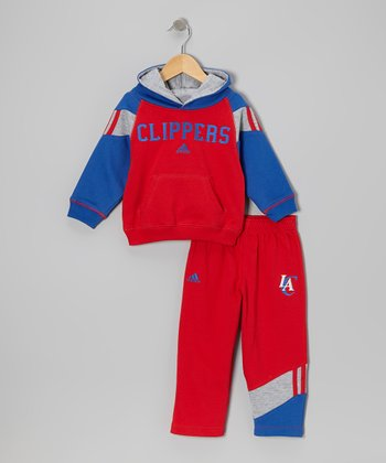 Los Angeles Clippers Fleece Hoodie & Pants - Toddler