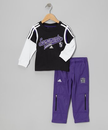 Sacramento Kings Layered Tee & Pants - Toddler