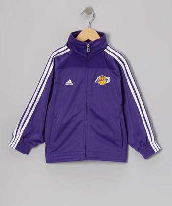 Los Angeles Lakers Track Jacket - Boys