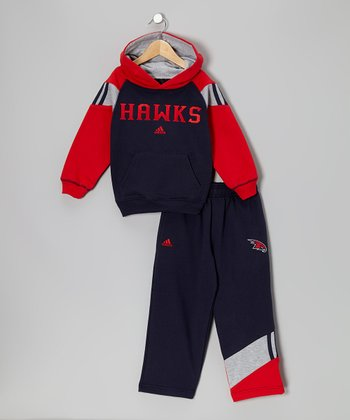 Atlanta Hawks Fleece Hoodie & Pants - Boys