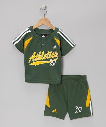 Green Athletics Top & Shorts - Toddler