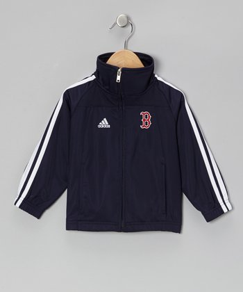 Navy Red Sox Track Jacket - Toddler