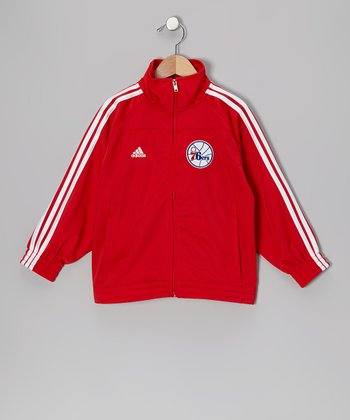 Philadelphia 76ers Track Jacket - Toddler & Boys