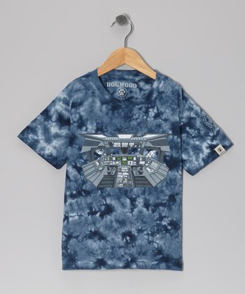 Navy Space Shuttle Tee - Infant, Toddler & Kids