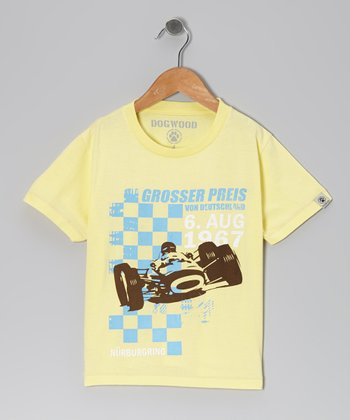 Yellow 'Grosser Preis' Tee - Infant