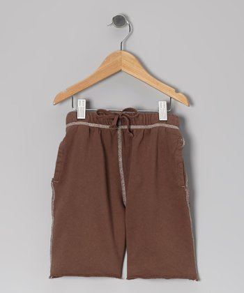 Cocoa College Sweat Shorts - Toddler & Boys
