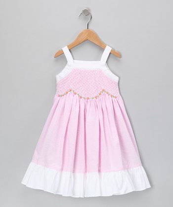 Pink Oksana Dress - Infant & Toddler