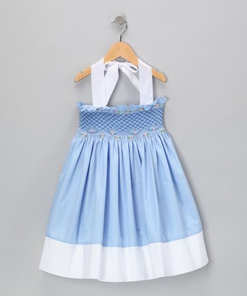 Blue Bayberry Dress - Infant & Toddler
