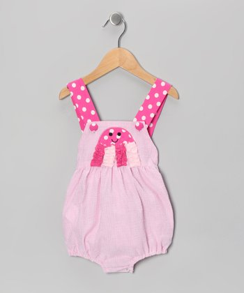 Pink Jellyfish Sunsuit - Infant & Toddler