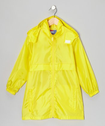 Lemonade Packable Rain Jacket - Boys
