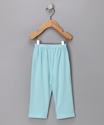Bubble Blue Organic Lounge Pants