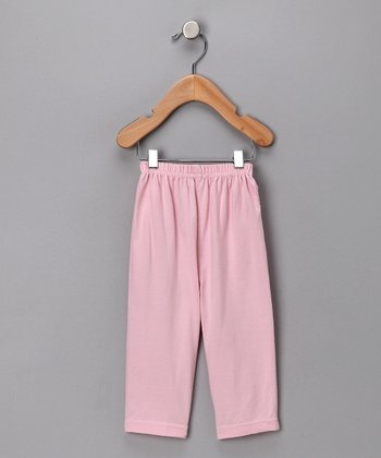 Rose Pink Organic Lounge Pants
