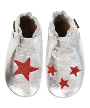 Silver Star Leather Booties