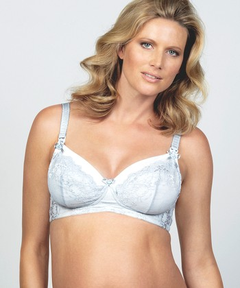French Vanilla Wireless Maternity & Nursing Bra - Women