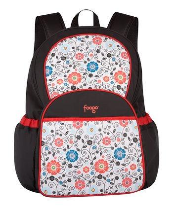 Poppy Patch Foogo Backpack Diaper Bag